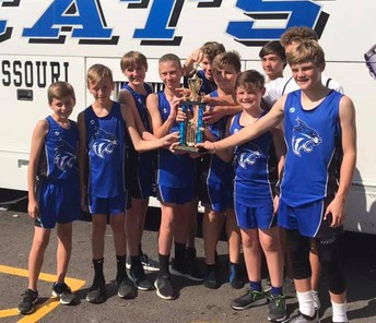 HMS Boys' Cross Country Team