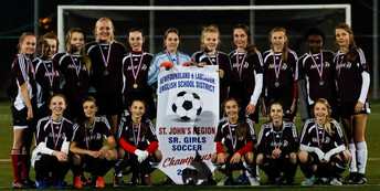 Senior girls' soccer