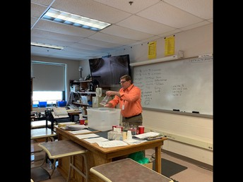 Physics Demo led by Dr. Smith