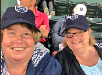 Mrs. Duggan & Ms. Sheehan at the Red Sox game!