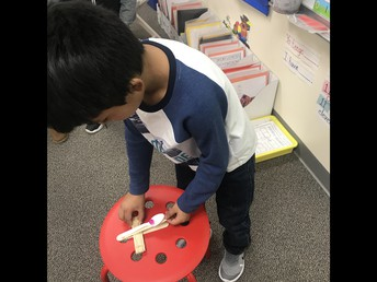 We can build a catapult with popsicle sticks and spoons