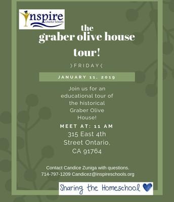 Graber Olive House Tour 1/11/19