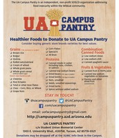 What to Donate to Campus Pantry!