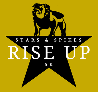 """STARS AND SPIKES """"RISE UP"""" VIRTUAL 5K:"""