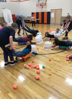 ROAR program teams up weekly with the Marion/Crawford Prevention Services to do fun activities with students