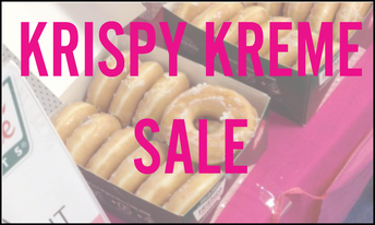 Krispy Kreme Sale in morning Carpool Friday October 25, 2019 sponsored by SWCC