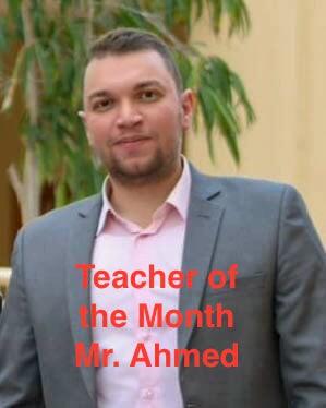 Teacher of the Month - Ahmed Khattab