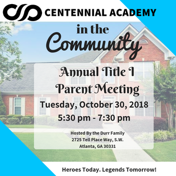 Centennial Academy in the Community
