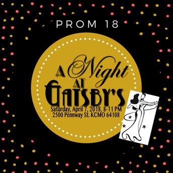 """PROM 2018 - """"A NIGHT AT GATSBY'S"""""""