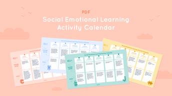 4 Weeks of SEL Activity Calendars
