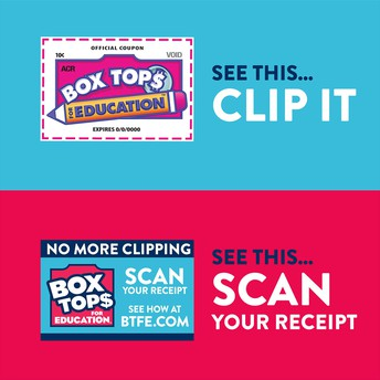 Keep Clipping Box Tops and Scanning those Receipts!