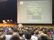 Holocaust Survivor Addresses Freshman Class