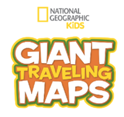 NATIONAL GEOGRAPHIC GIANT TRAVELING MAP OF TENNESSEE