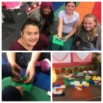 Constructing Hearts with Lego in 5th