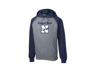 NMS Sport-Tek Raglan Colorblock Pullover Hoodie