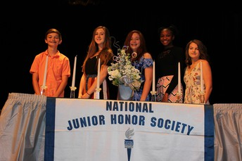 2018-2019 NJHS Officers