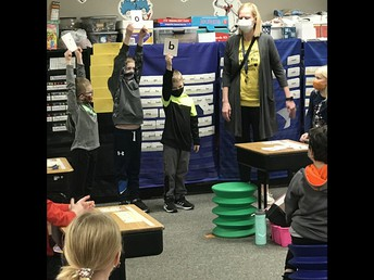 """Mrs. Wagner's Class is learning about the """"pinching"""" e."""