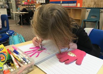 Kindergarten - Becoming Writers!