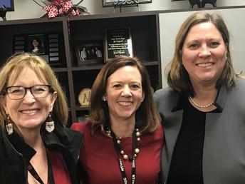 State Representative-Elect, Julie Johnson, Visits