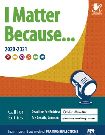 Reflections Deadline October 23rd