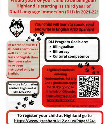 English Flyer