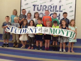 E5-2nd Grade August and September Students of the Month