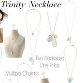 PENDING SALE - Trinity Pendant - Gold