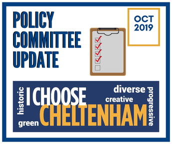 Stay Informed: October Policy Committee Meeting