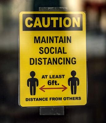 Six Feet Distancing