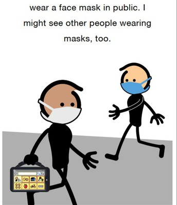 Social Narrative: Masks & AAC