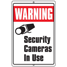 SECURITY CAMERAS AT VOGELTOWN