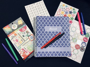 Planners, Stickers, Washi Tape, Etc.