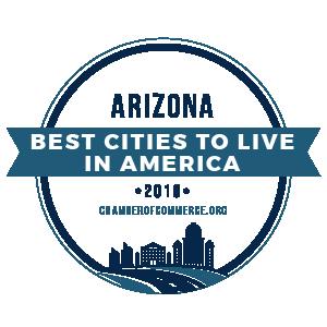 Chandler in Top Ten Best Cities to Live in Arizona