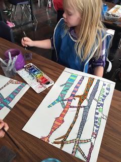 Monroe Art Teacher Class Projects Featured