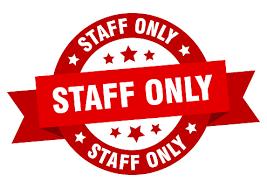 Staff Only Days