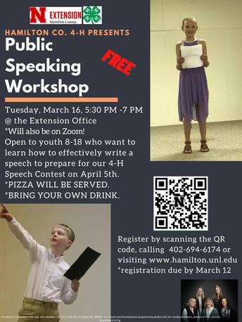 Hamilton County Public Speaking Workshop