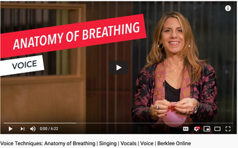 Vocal Technique: Anatomy of Breathing