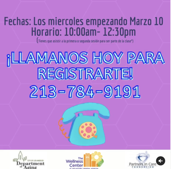 Health Workshop in Spanish
