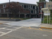 New concrete work in front of FLMS to improve safety!