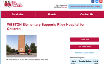 RILEY HOSPITAL Relief Fund