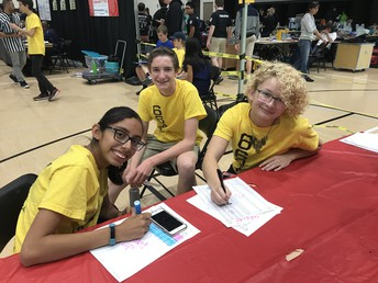 Foothill Queuing Table Volunteers