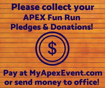 APEX Update: Pledge/Donation Payments