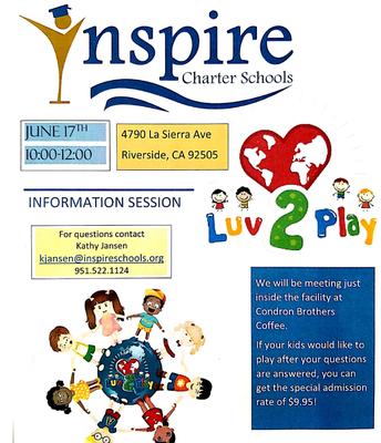 Inspire Info Session! RIVERSIDE