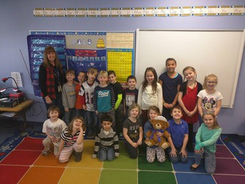Most Improved Points - Mrs. Kiechle's Class