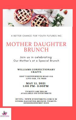 Get Your Tickets Now :  Mother Daughter Brunch