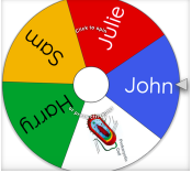 Wheel of Names