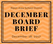 December Board Brief