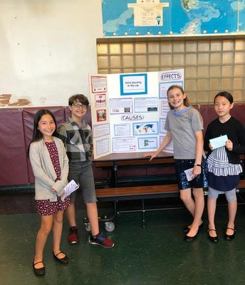 Groups of Students Shared Their Research Projects