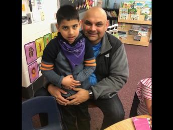 Mr. Ardeshna with his son Arman!