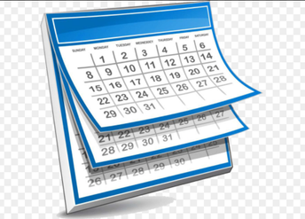 Remember Our Calendar Changes:      March 22-25 & April 5-9